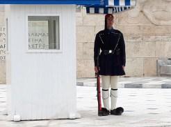חילופי משמרות בפרלמנט היווני