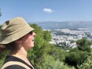 תצפית מגבעת הזאבים באתונה