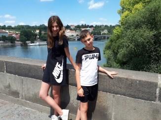 על גשר קארל בפראג