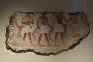 ציורי קיר ממצרים העתיקה במוזיאון הבריטי