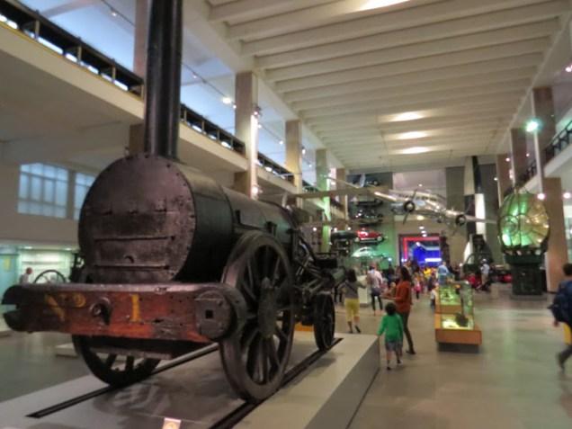 מוזיאון המדע בלונדון - הקטר הראשון