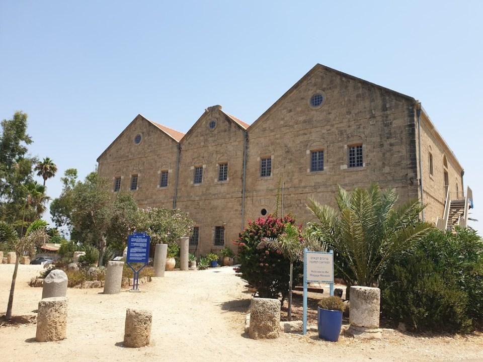מוזיאון המזגגה בחוף דור