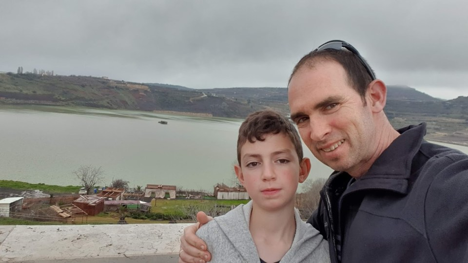 ברכת רם ליד הכפר מסעדה בצפון הגולן