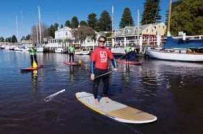 Stand Up Paddle Boarding with Go Surf School