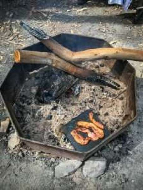 Campfire breakfast was so delicious!