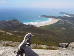 On top - Mount Oberon Walk