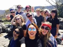 Selfie on top of the Pinnacles Walk