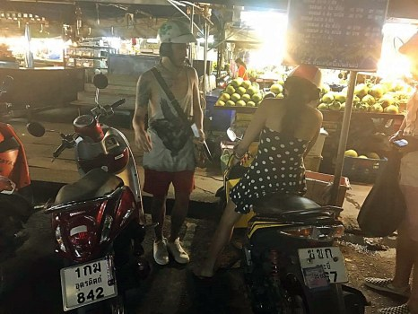 Motorcycle rental ( 300 baht)