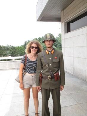 Riccio and soldier