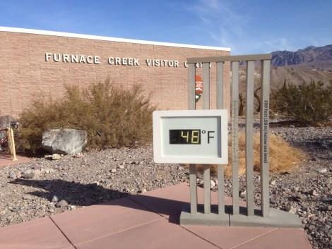 Highest recorded temperature: 137 degrees F