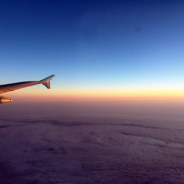 Sunrise Flight Views