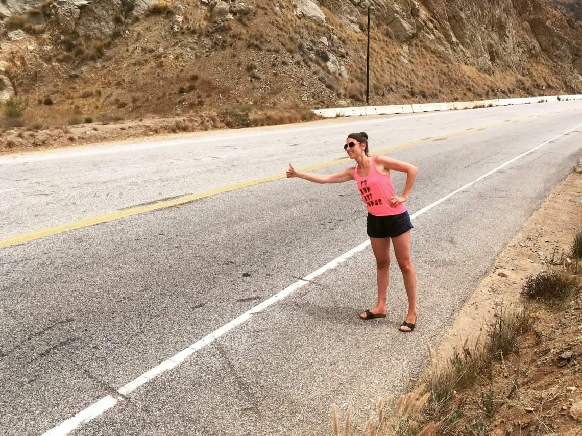 California Hitchhiking