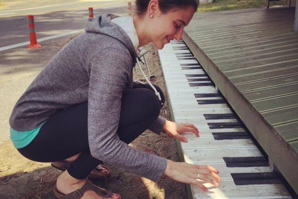 Piano Fun on Jeju Island