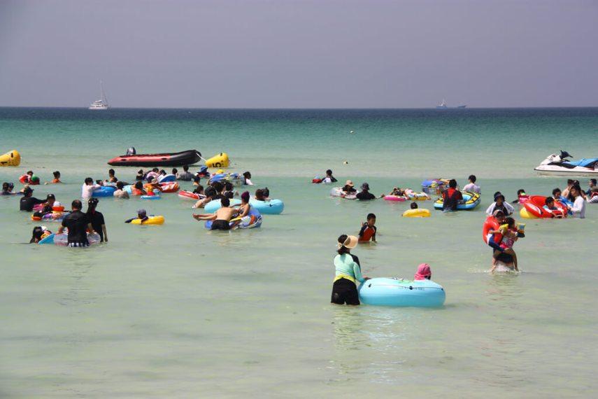 Gimnyeong Beach Floaties