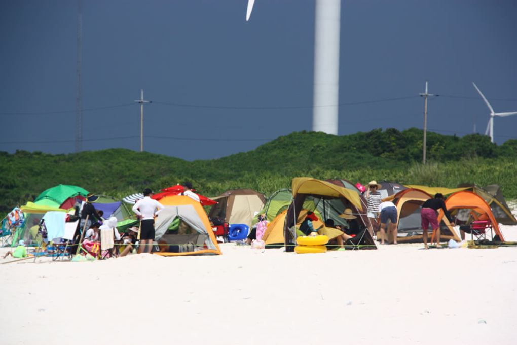 Gimnyeong Beach Tent City