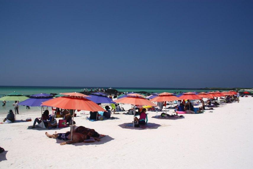 Gimnyeong Beach Umbrellas