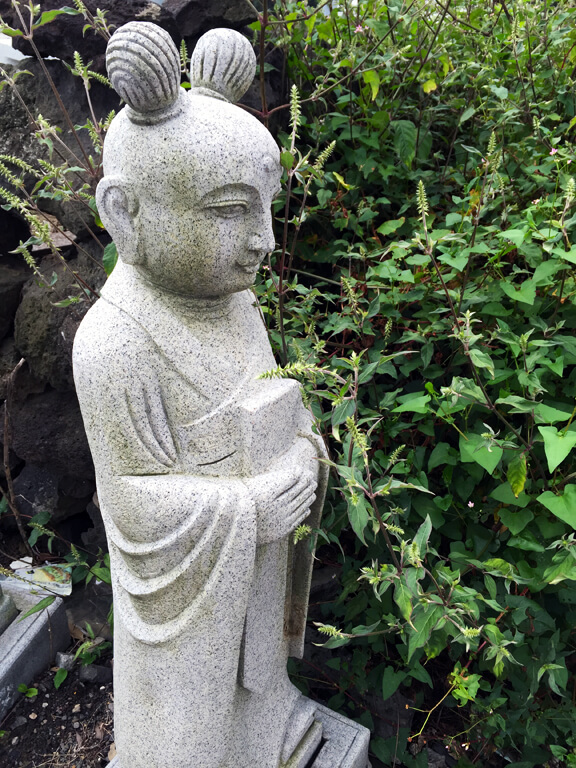 Korean Stone Statue