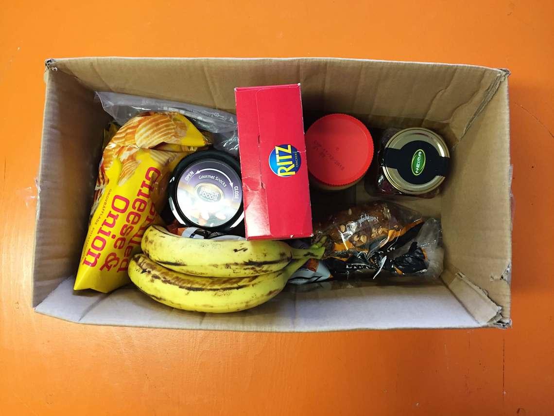 Car Camping Kitchen in a Cardboard Box (Iceland)