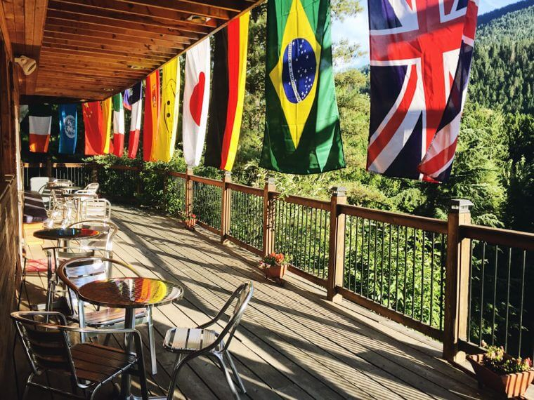 Country Flags Outdoors Canada