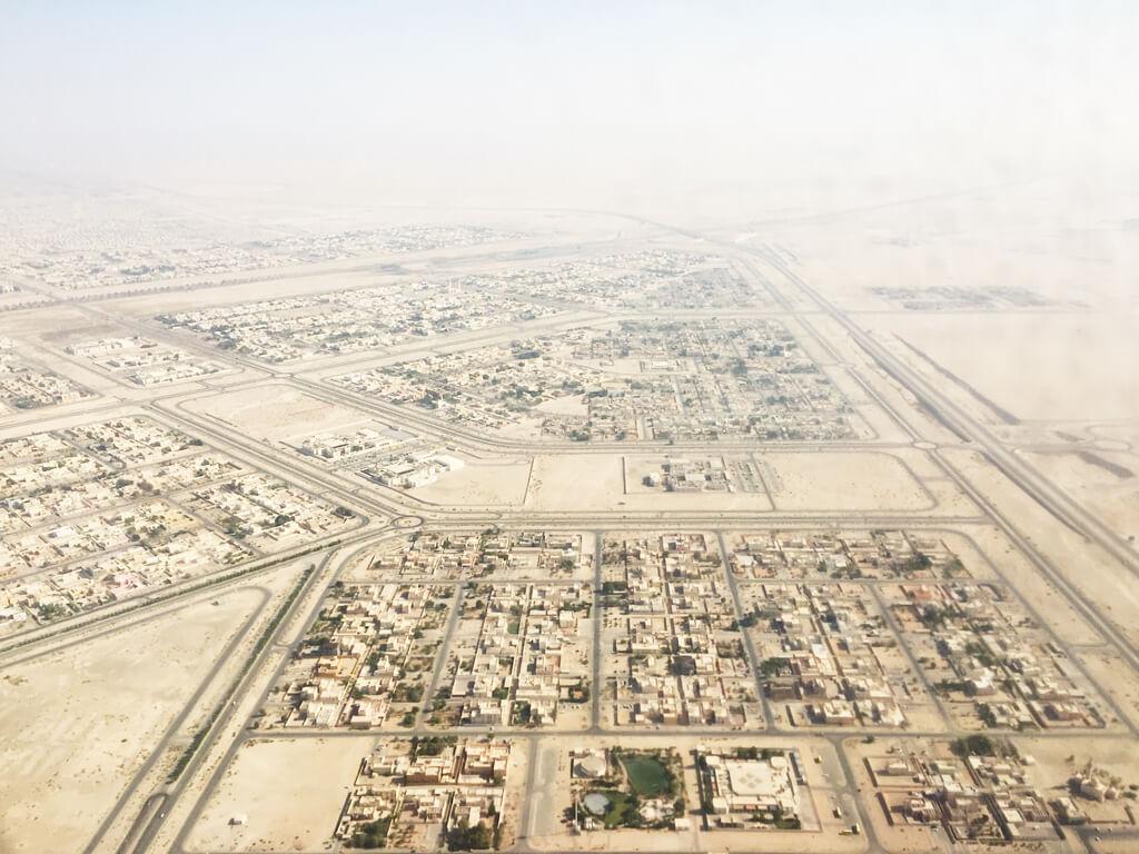 Desert Airplane Views