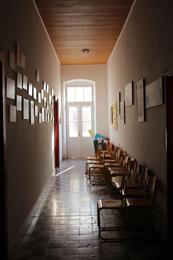 Croatian School Hallway