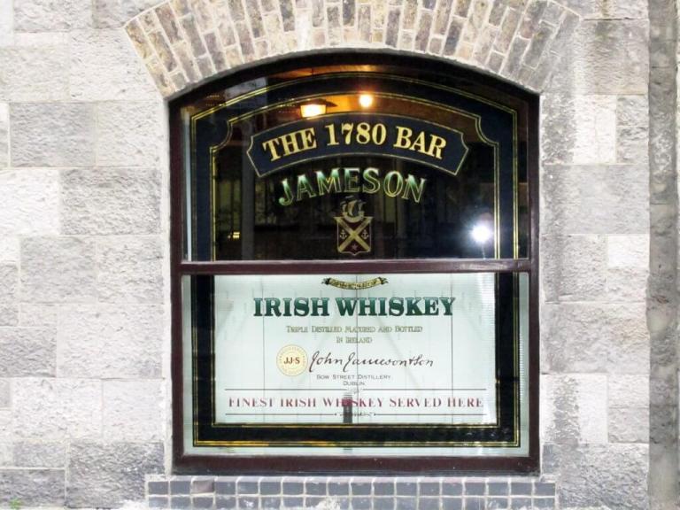 Dublin's Jameson's Whisky Bow Street