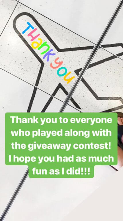 Halifax Giveaway Contest Thank You to Players