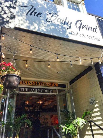 Halifax's Daily Grind Bar Patio