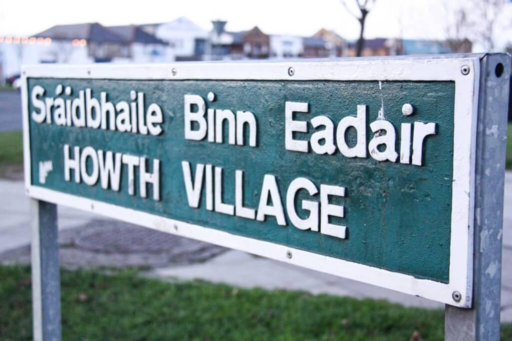 Howth, Ireland Village Sign