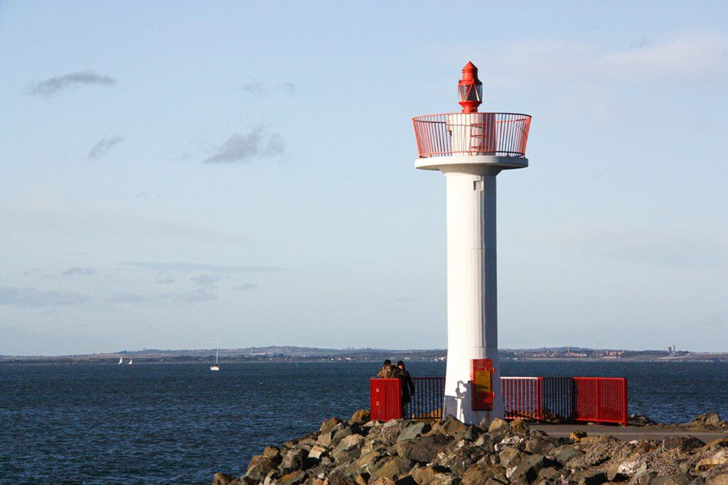 Howth Village East Pier Lighthouse