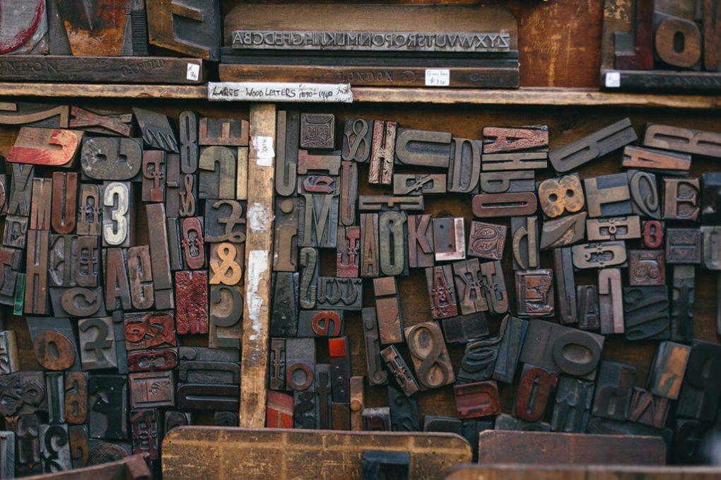 Wooden Letter Stamps