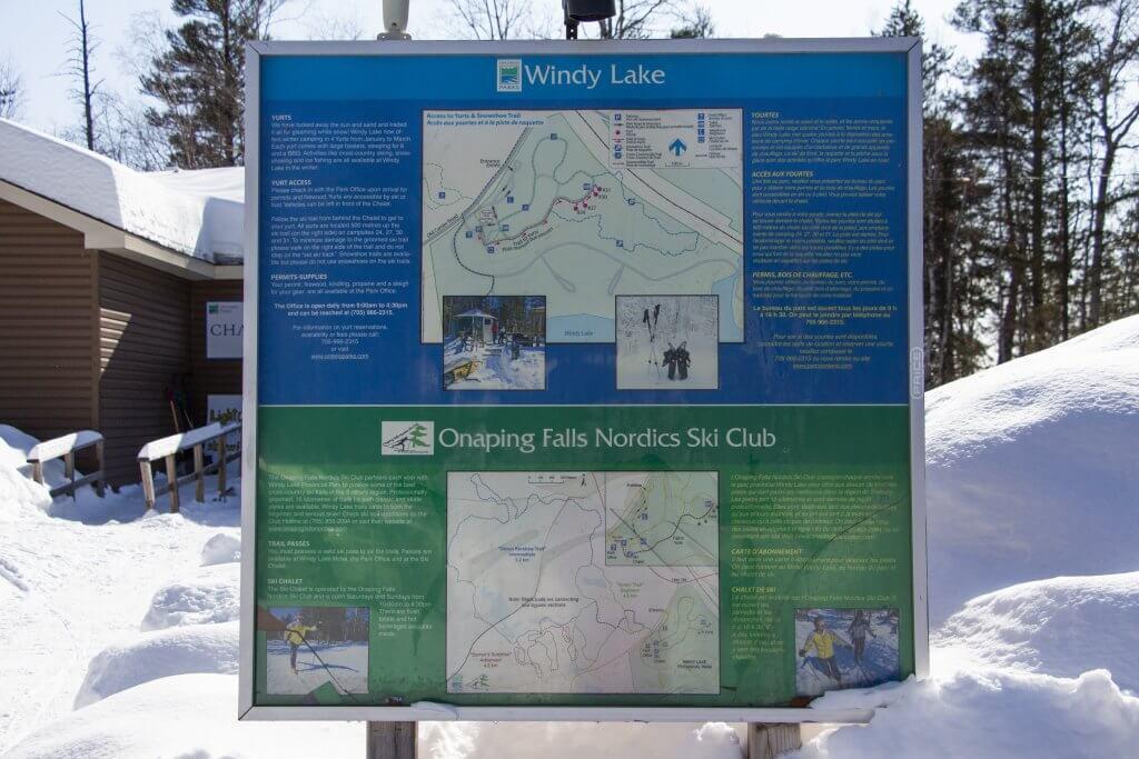 Onaping Falls Nordic Ski Club Trails