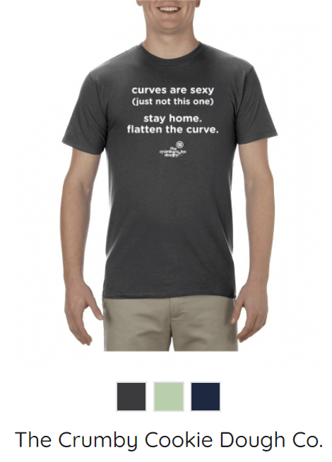 KW-Awesome T-Shirts - Flatten the Curve
