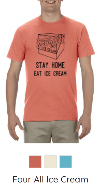 KW-Awesome T-Shirts - FourAll Ice Cream