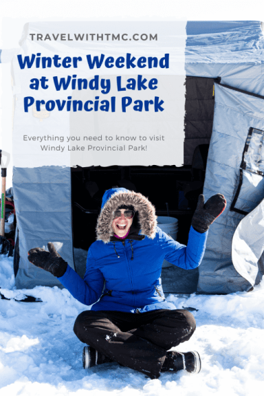 Winter Weekend at Windy Lake Provincial Park in Ontario, Canada