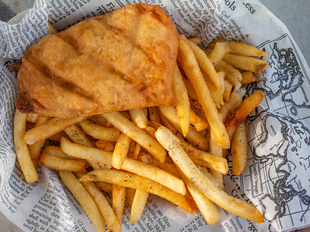 Ish & Chips Tasty Lunch at Kitchener Food Truck in 2020