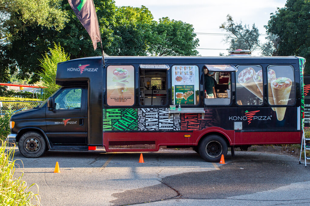 Kono Pizza Food Truck in Kitchener