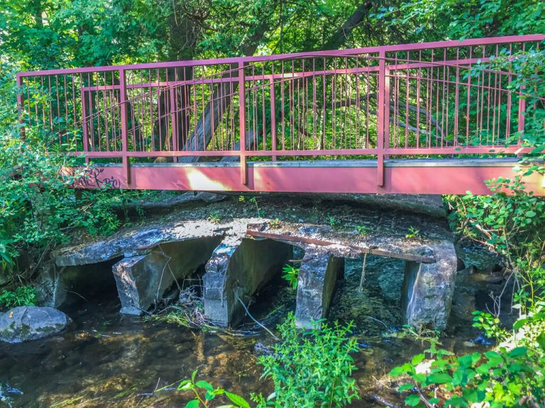 Bridges at Blair's Sheave Tower in Ontario