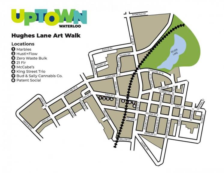 Hughes Lane Art Map Walk
