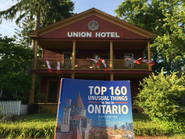 Join TMc on 160 Unusual Ontario Adventures