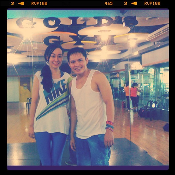 Zumba in Gold's Gym
