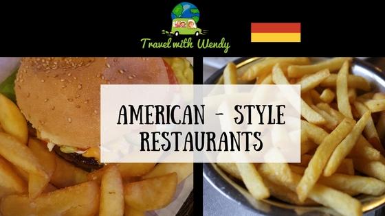 American-style restaurants
