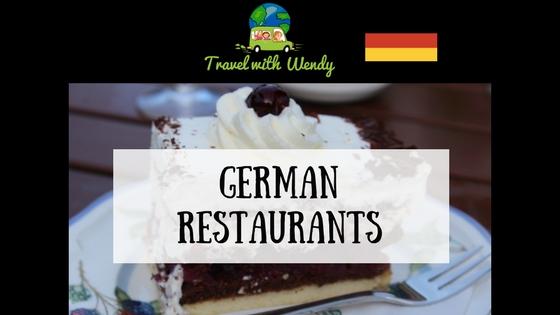 German restaurants