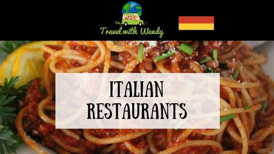 Italian Restaurants