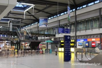 Airport in Leipzig