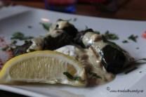 TWW - Restaurant Eleni - grape leaves