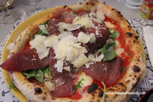 Fra Diavolo pizza