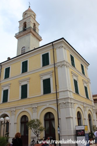 TWW - town hall Diano Marina