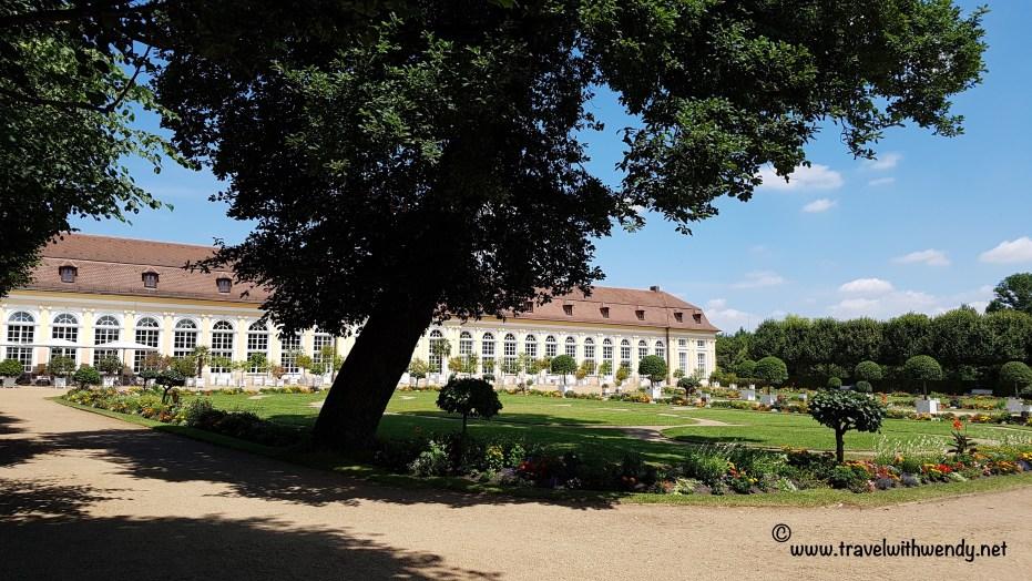 TWW - Ansbach castle gardens