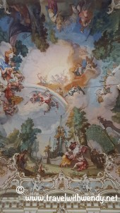 TWW - ceiling of Nymphenburg